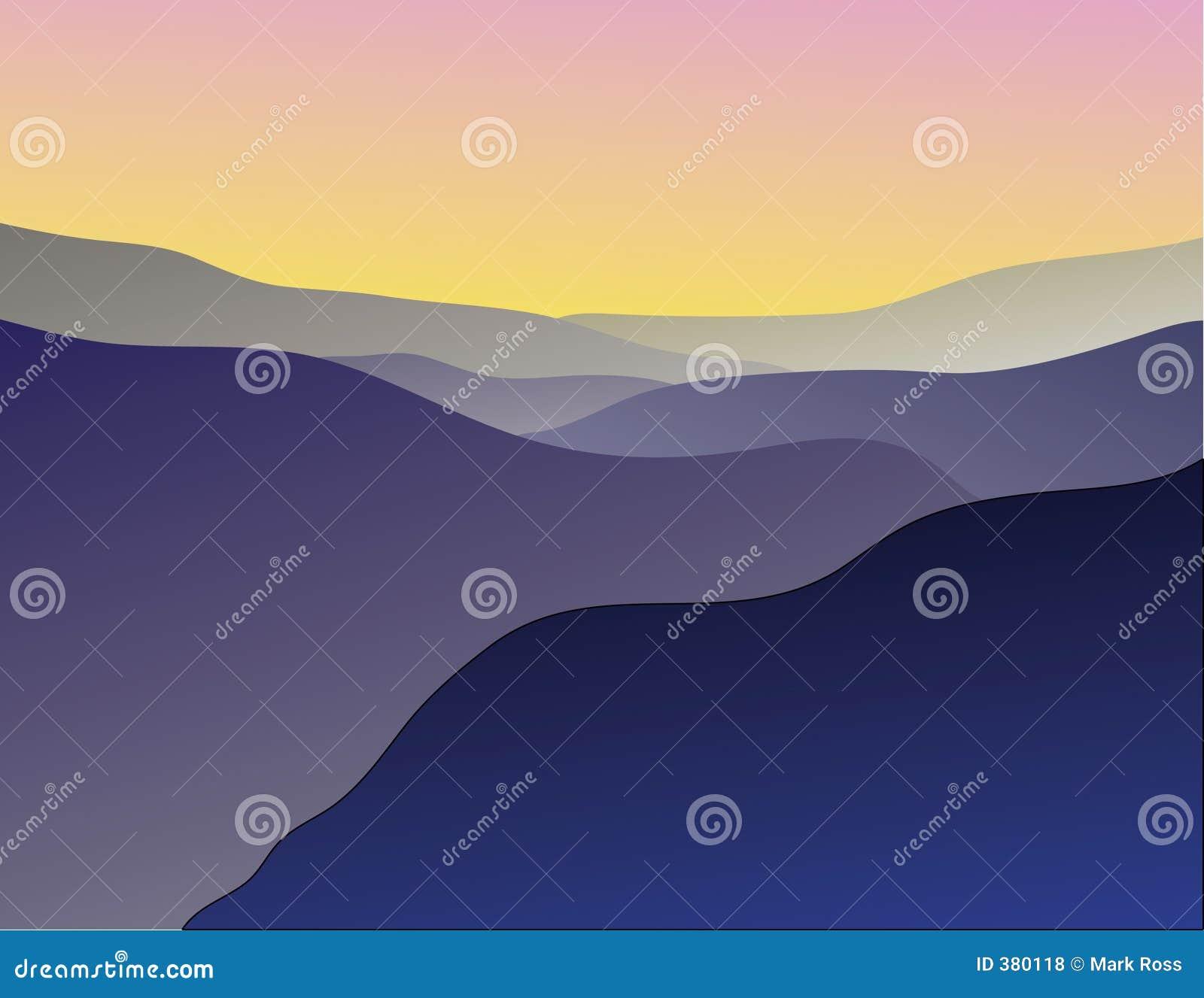 Vista βουνών