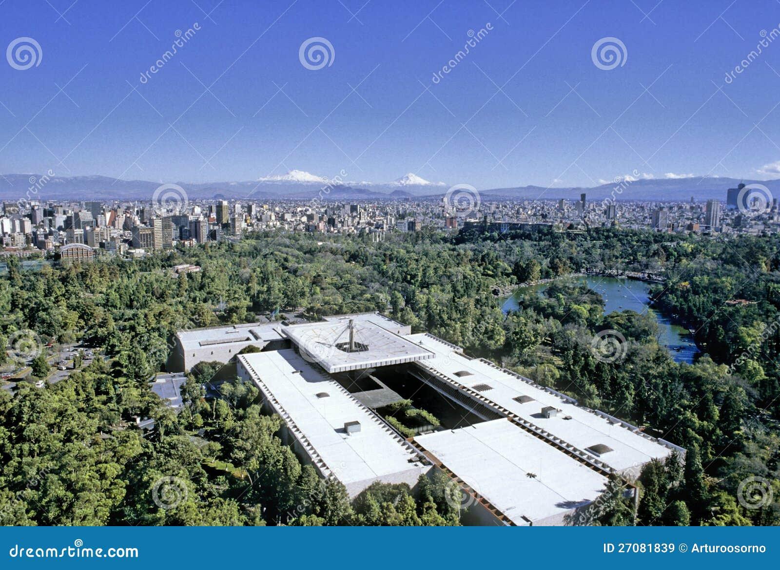 Vista aérea de Ciudad de México