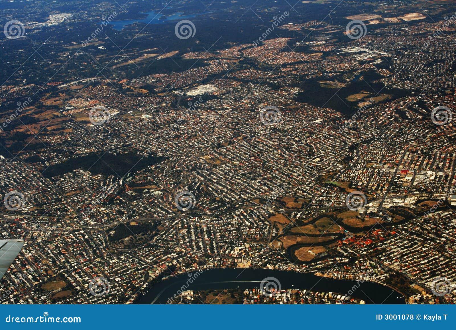 Vista aérea de Queensland