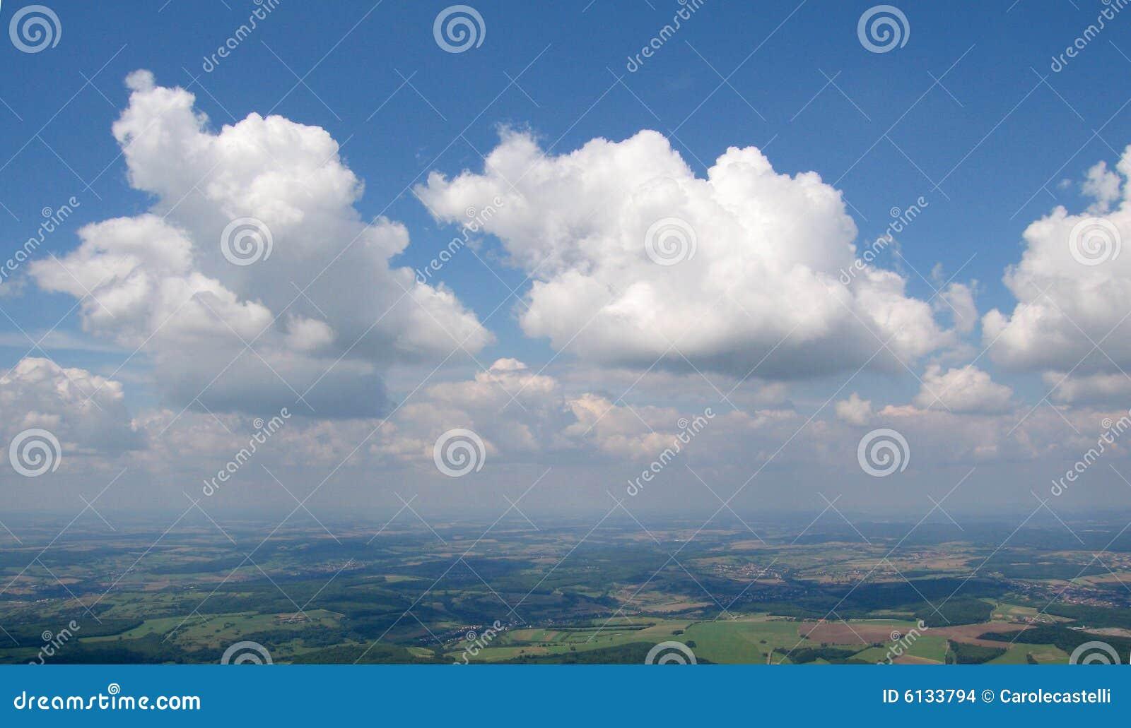 Vista aérea do Cumulus