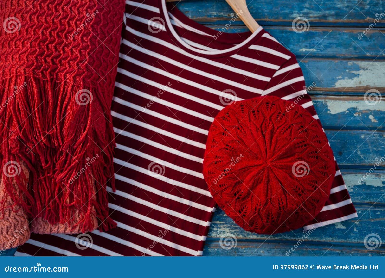 Vista aérea do womenswear