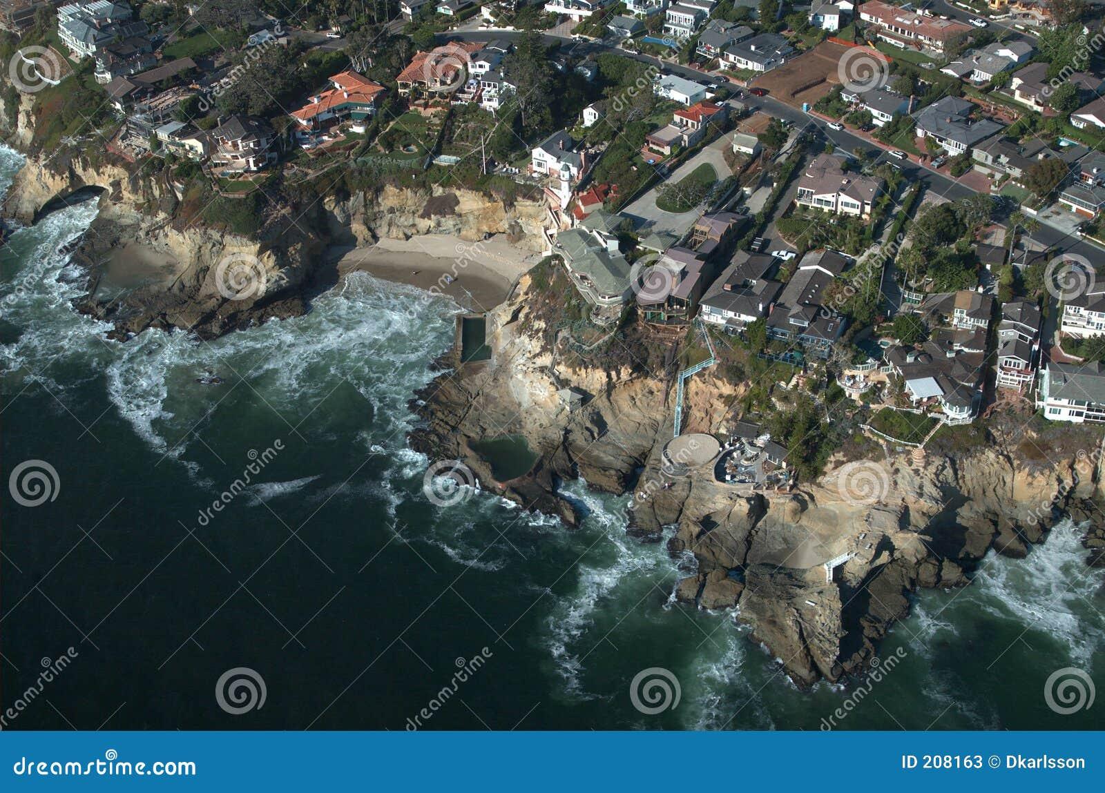 Vista aerea del Laguna Beach