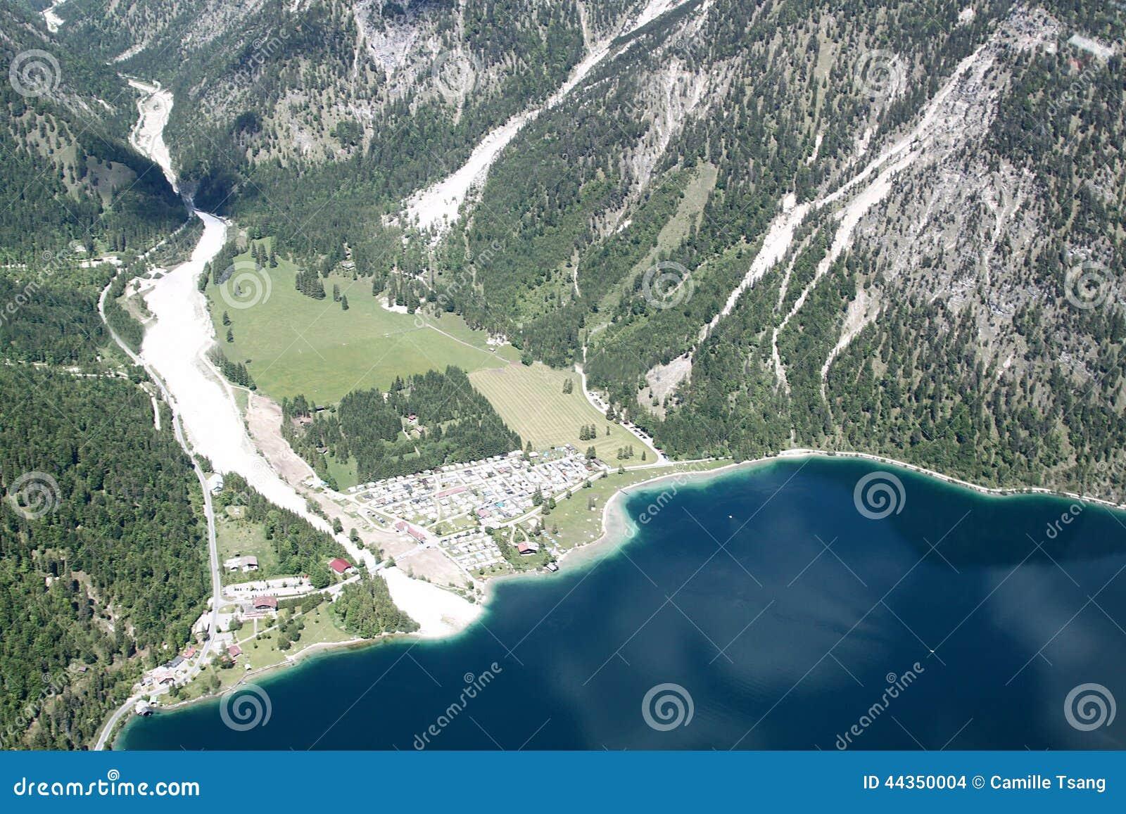 Vista aerea della valle