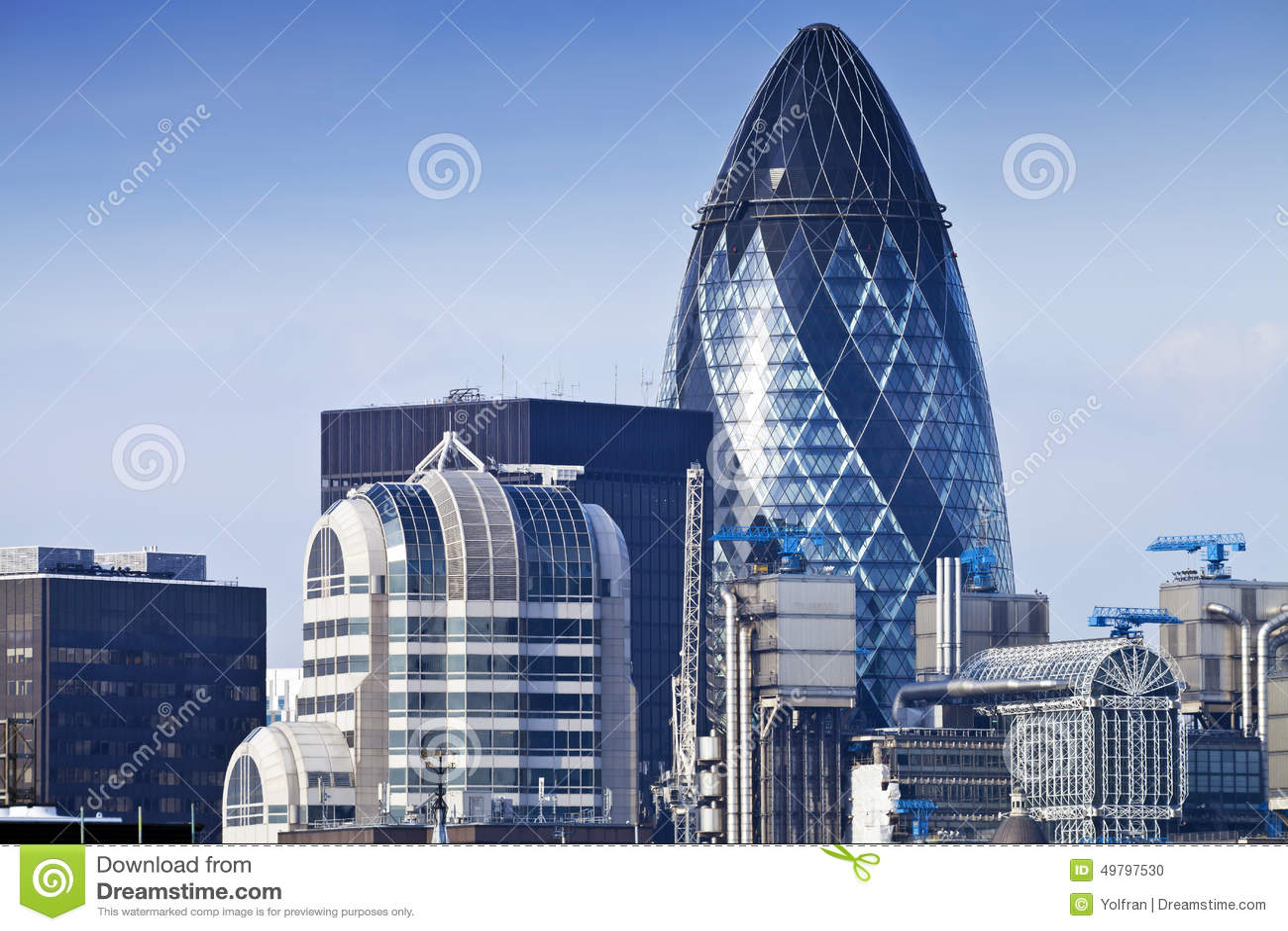Vista aerea di giorno della città dell orizzonte di Londra
