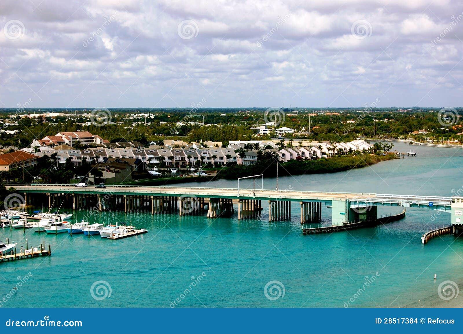 Vista aerea di Giove Florida