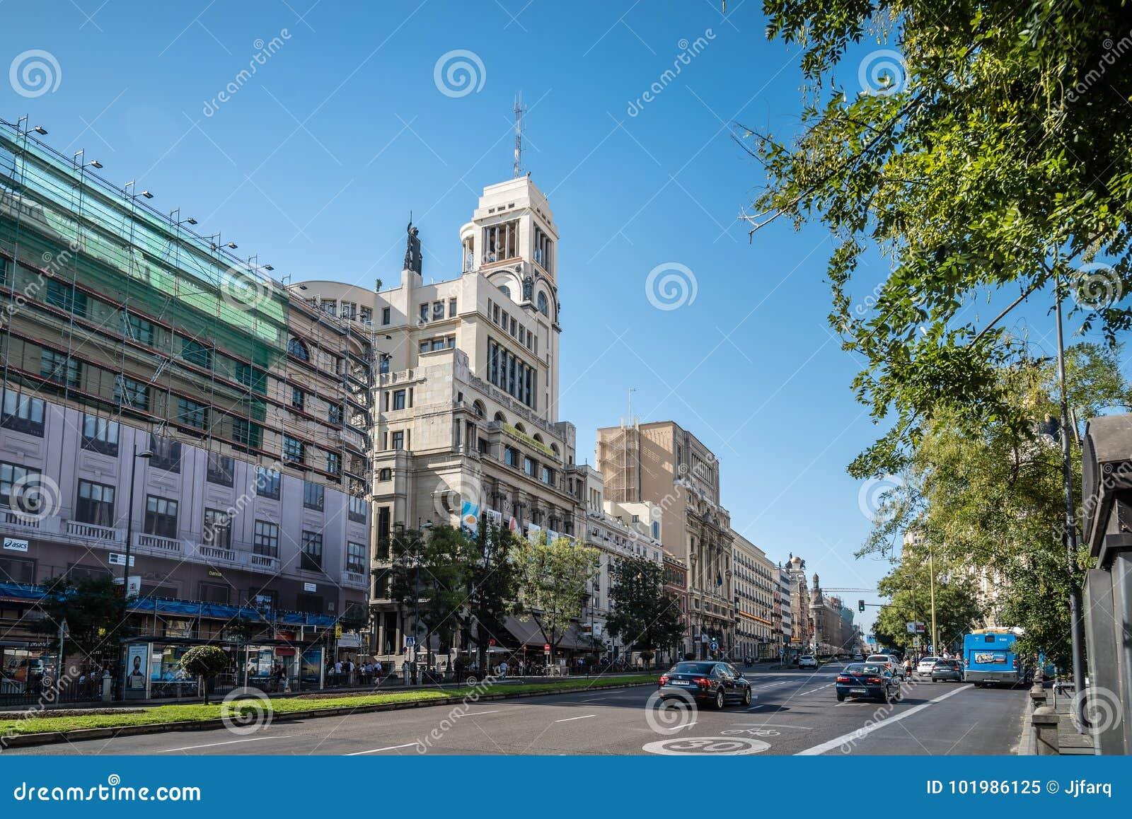 Vista Al Aire Libre De Circulo De Bellas Artes Imagen