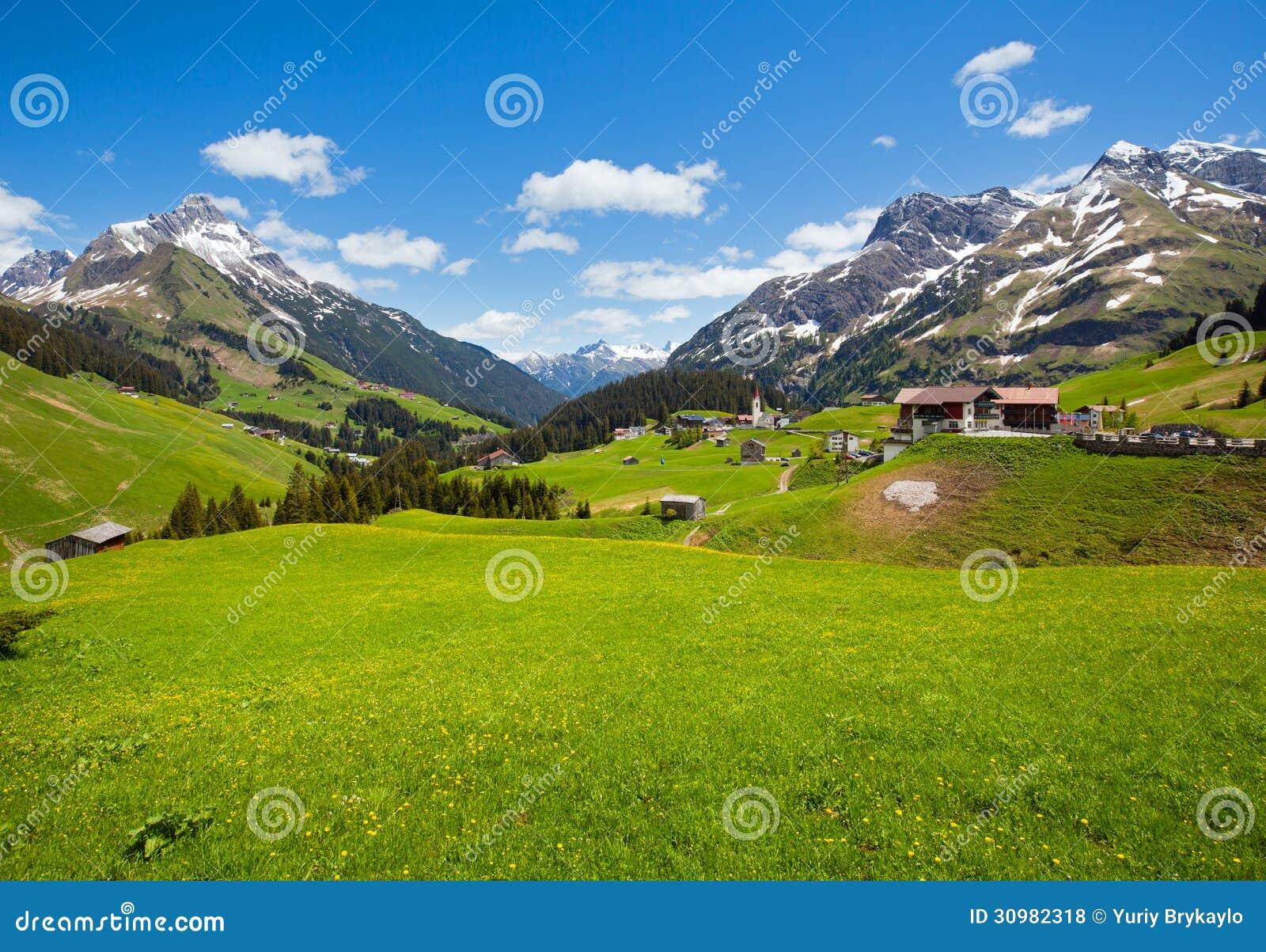Vista alpina (Vorarlberg, Austria)