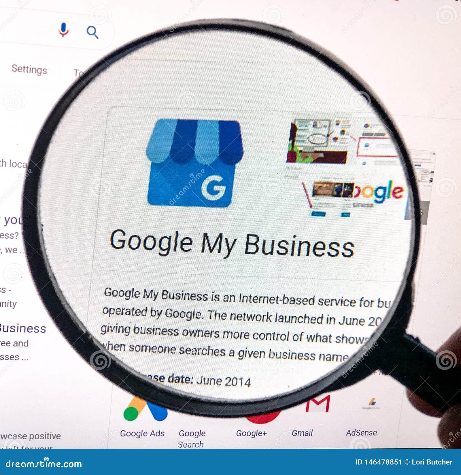 Vista ampliada de Google minha lista do negócio