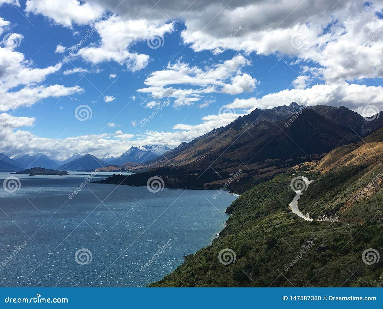 Vista asombrosa a la monta?a