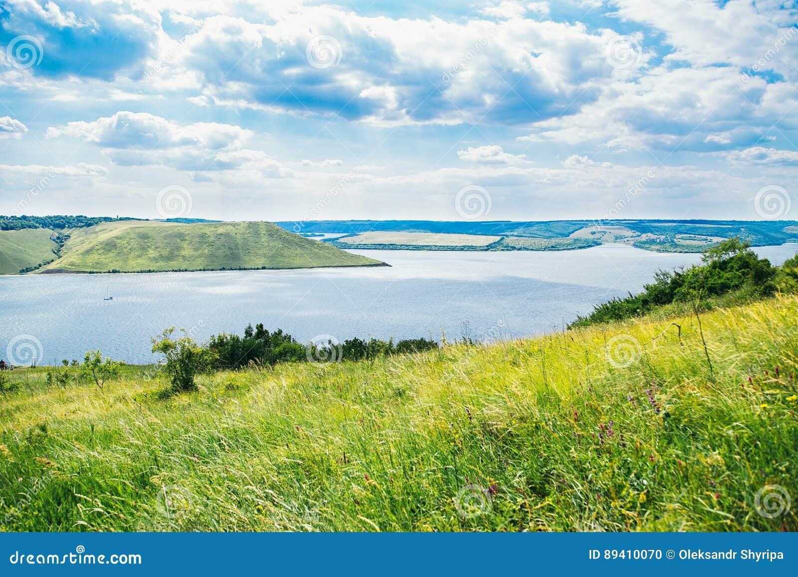 Vista bonita em Bakota, Ucrânia