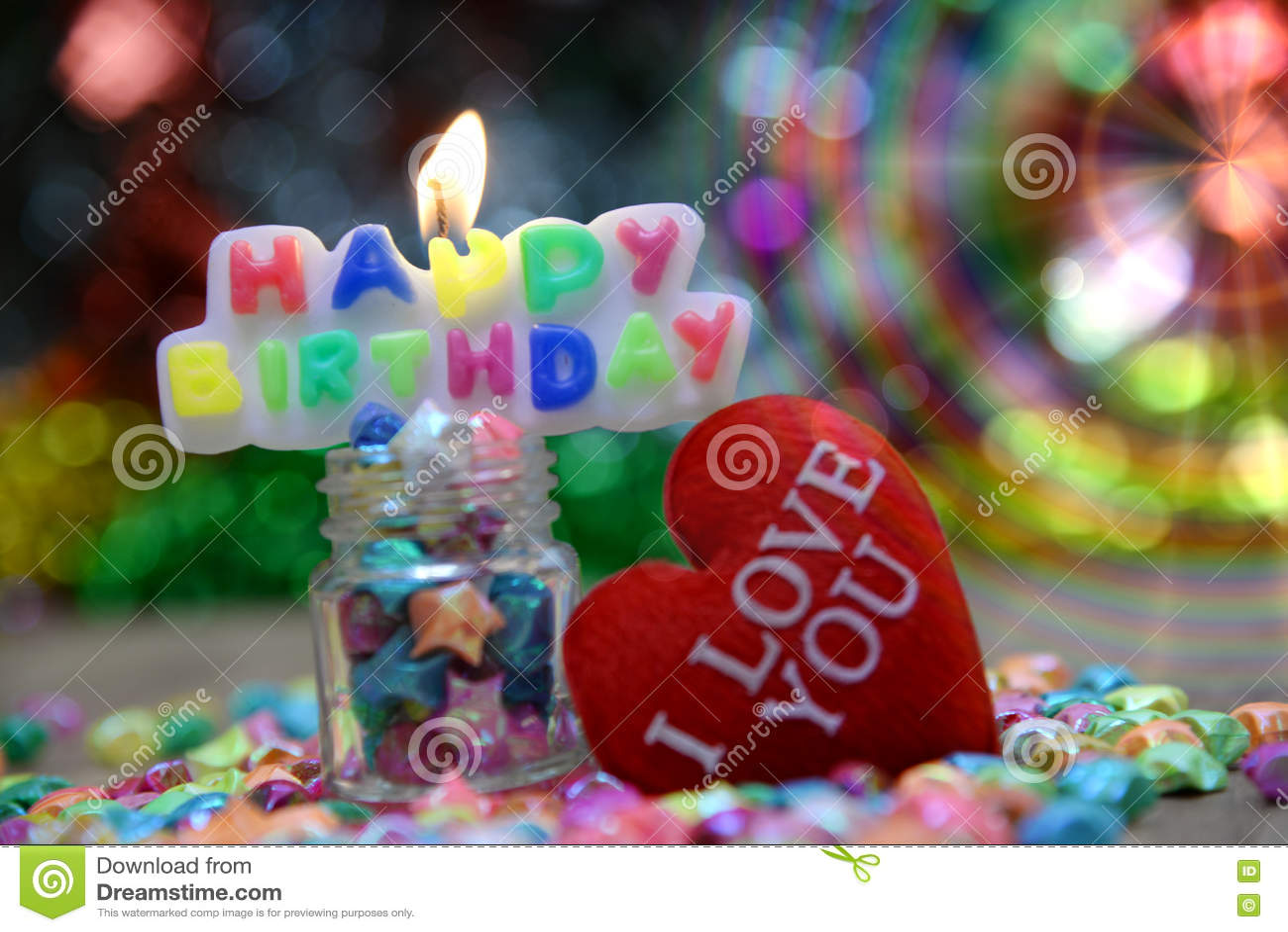Vista Bonita Feliz Aniversario Imagem De Stock Imagem De