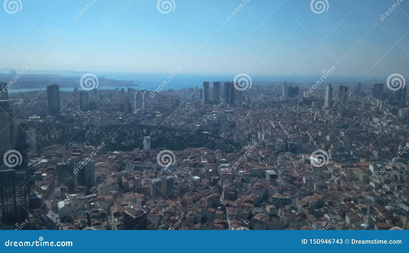 Vista da safira, Istambul