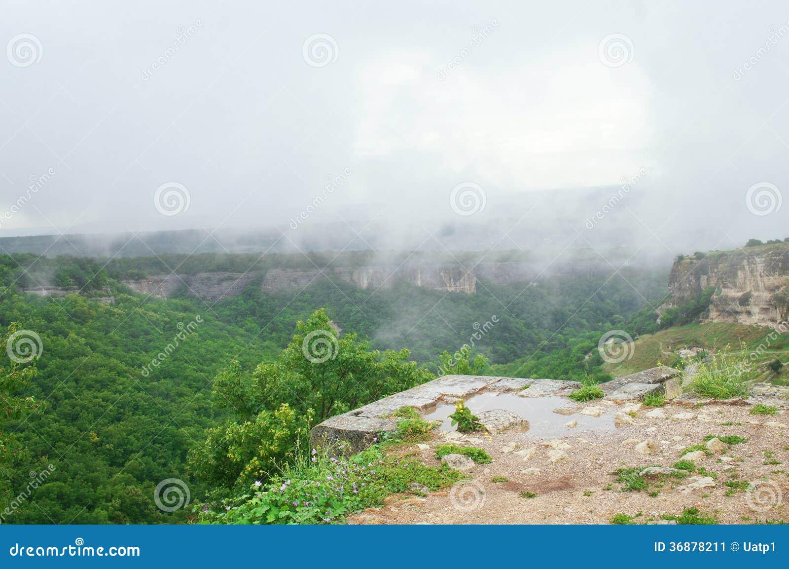 Download Vista Dall'alpe Della Montagna Immagine Stock - Immagine di nessuno, crimea: 36878211