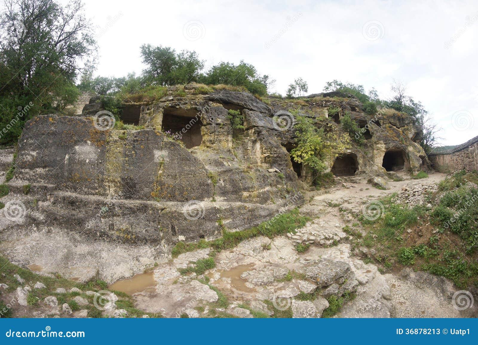 Download Vista Dall'alpe Della Montagna Immagine Stock - Immagine di canyon, crimea: 36878213