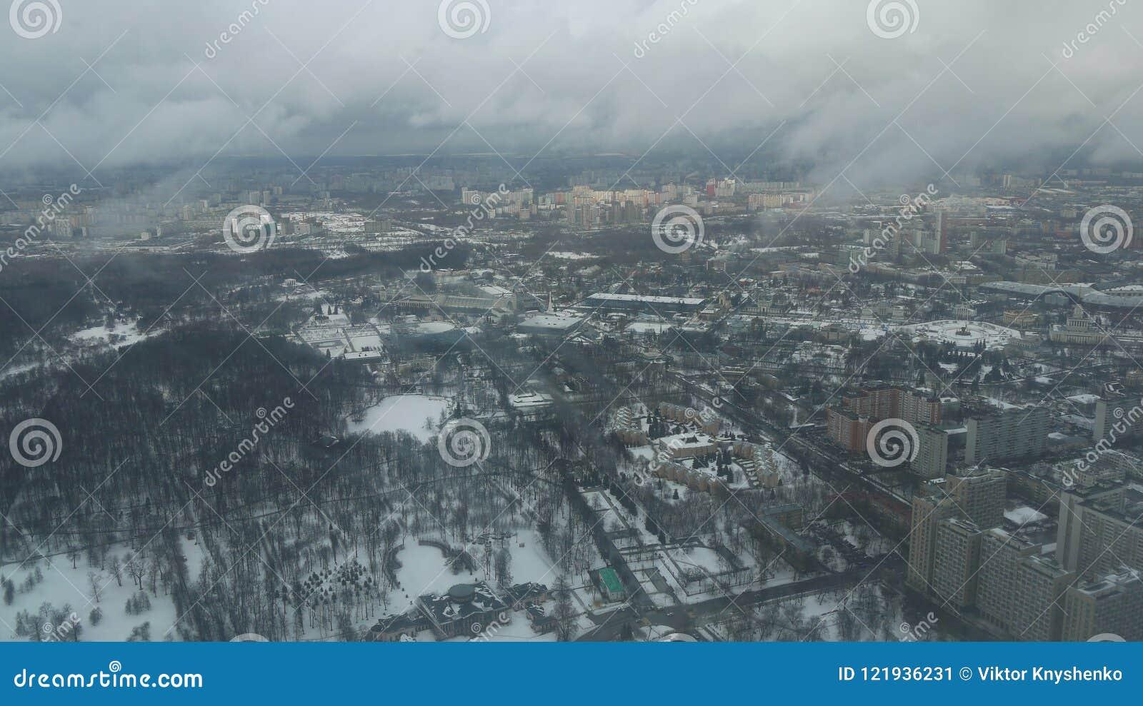 Vista dalla torre di Ostankino TV