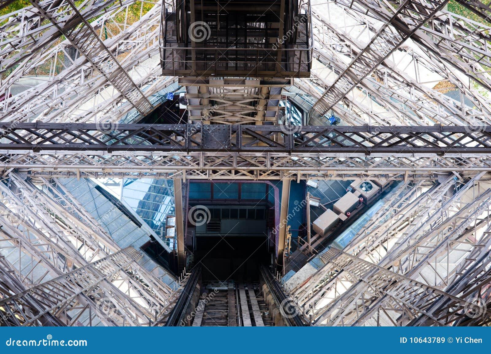 Vista dalla torre eiffel immagine stock immagine di for Interno della torretta vittoriana