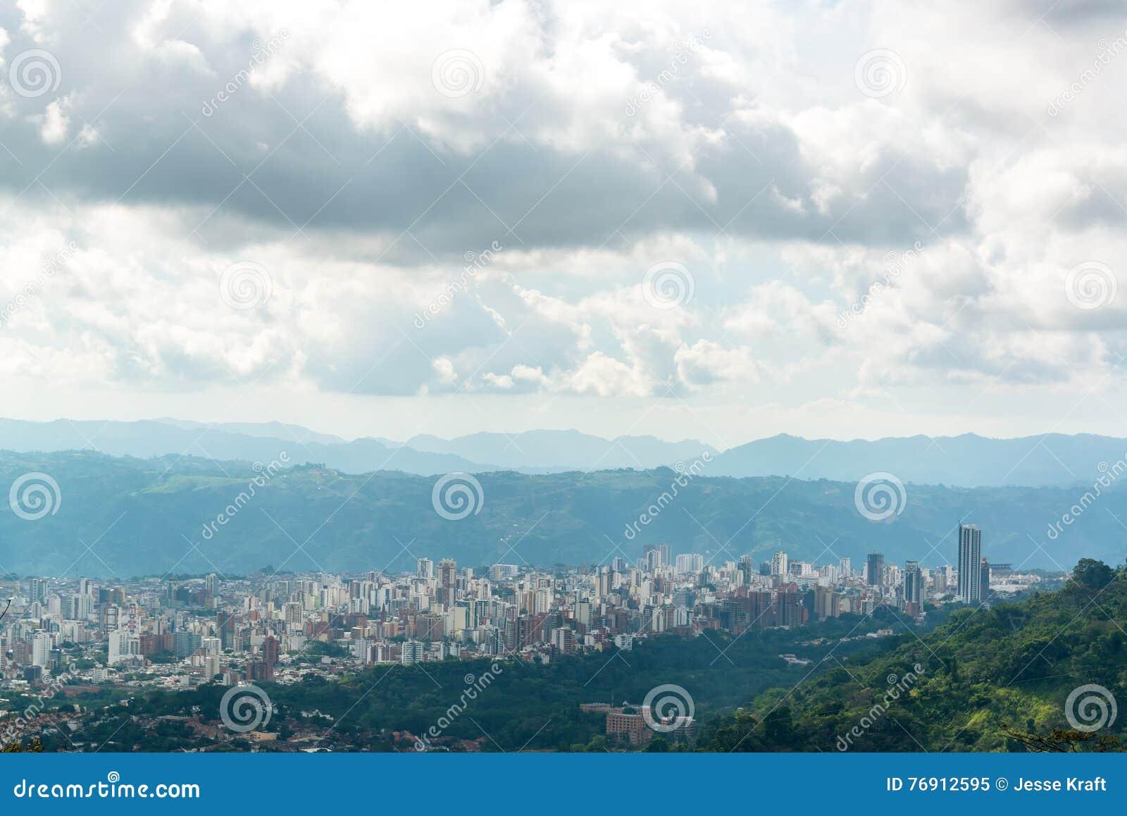 Vista de Bucaramanga, Colômbia