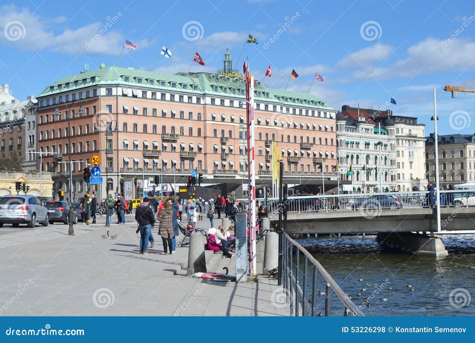 Vista de la pieza del quintal de Estocolmo