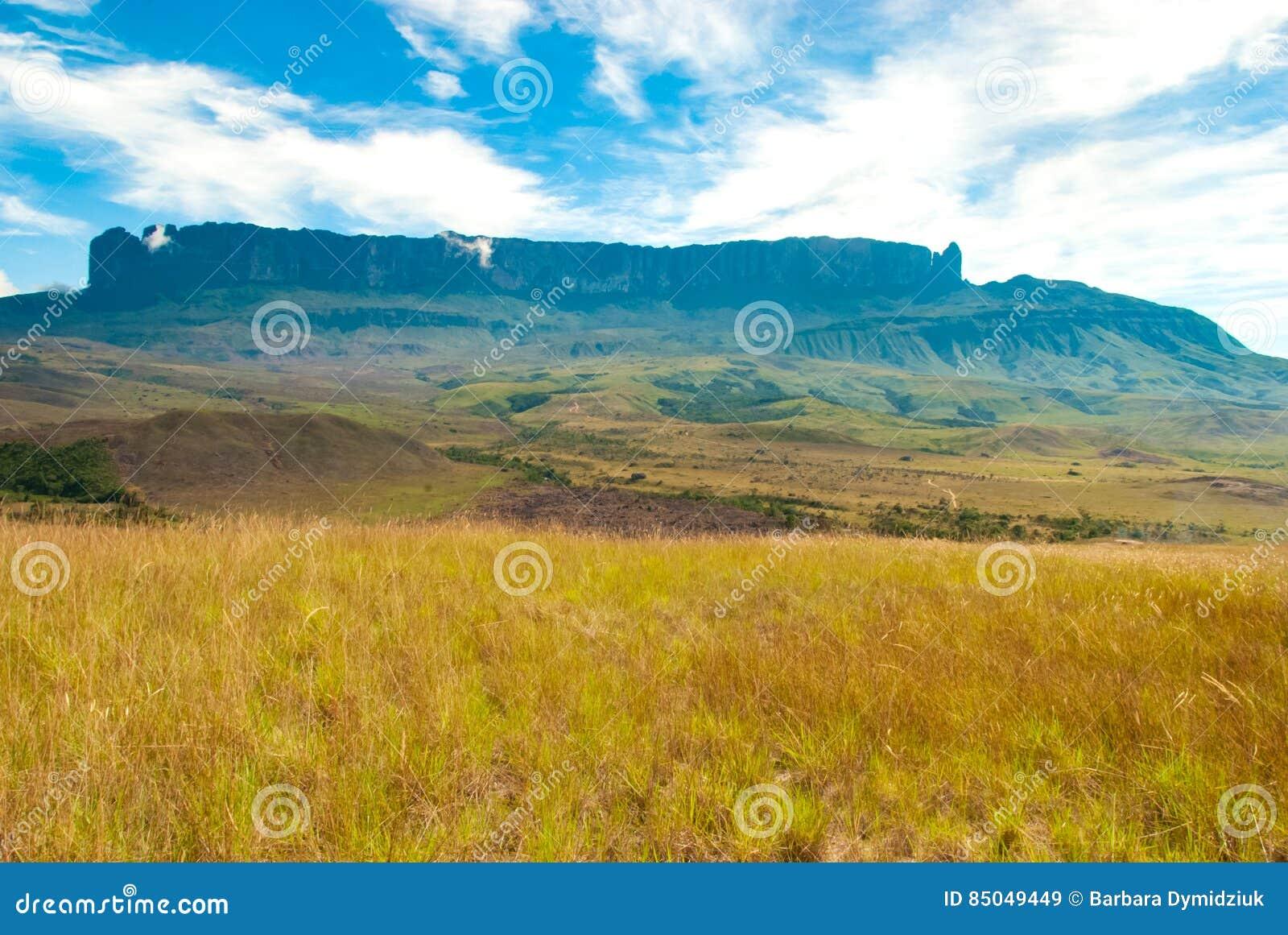 Vista de Roraima Tepui, Gran Sabana, Venezuela