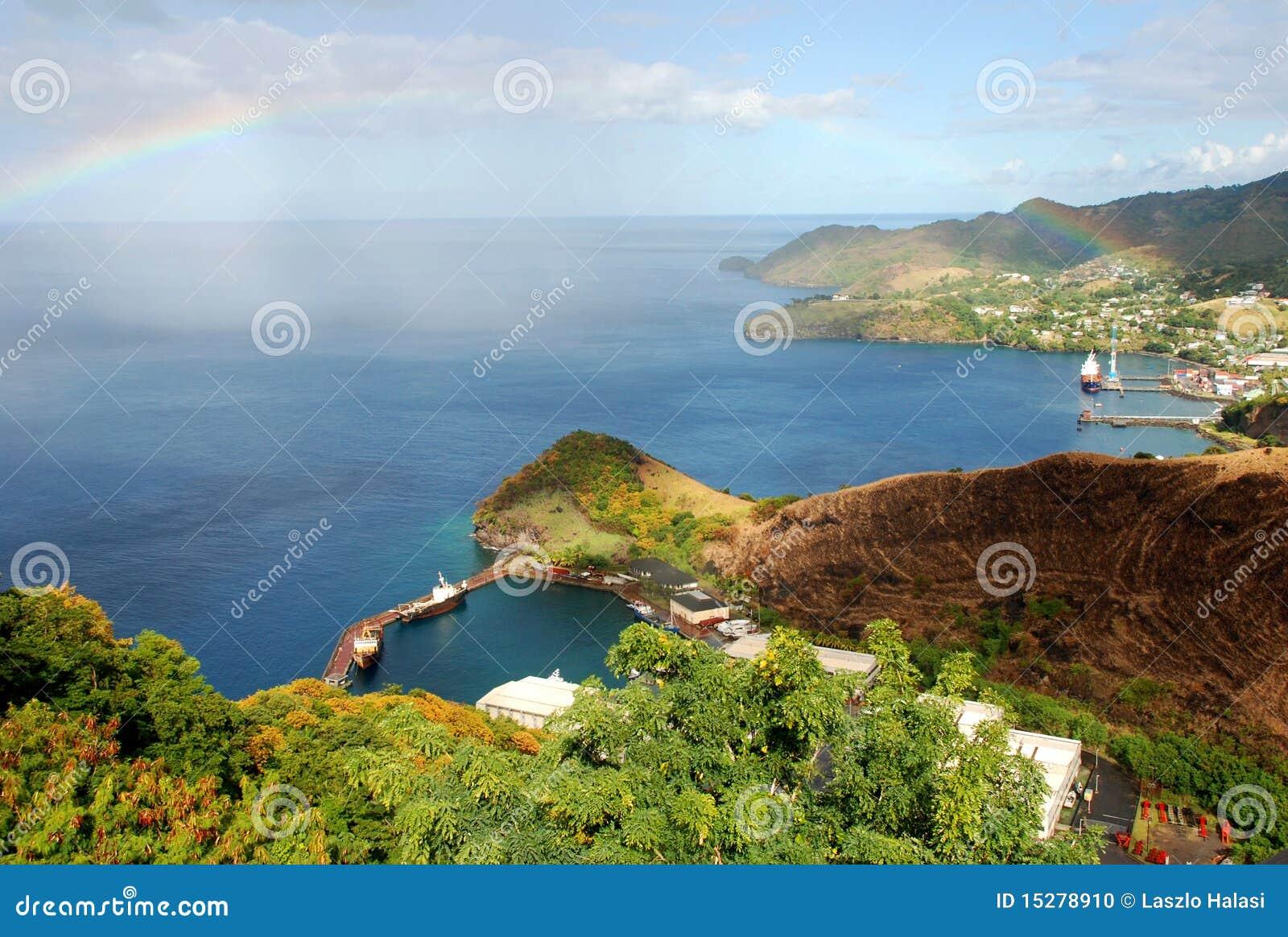Vista de St. Vincent
