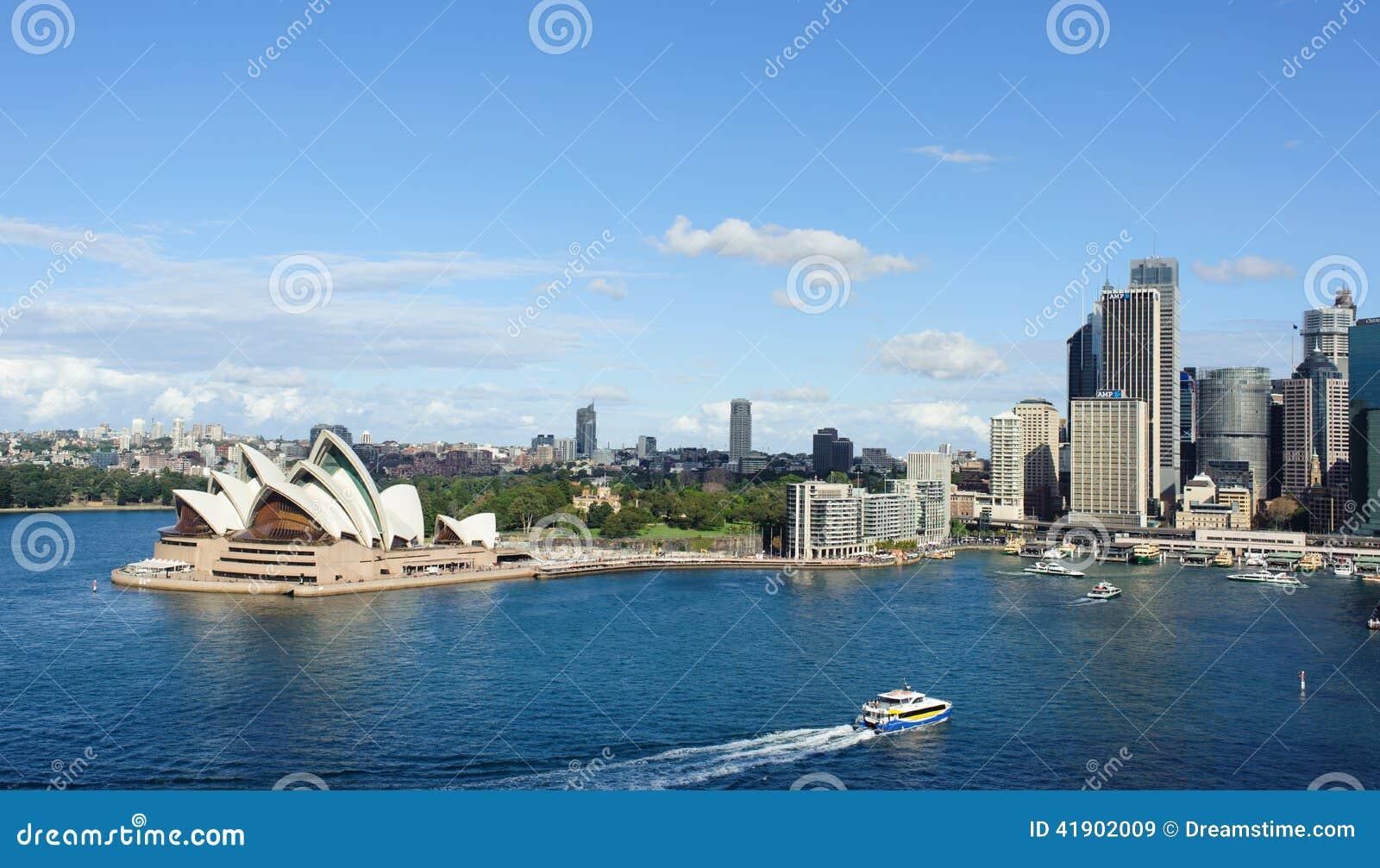 Vista de Sydney y del puerto