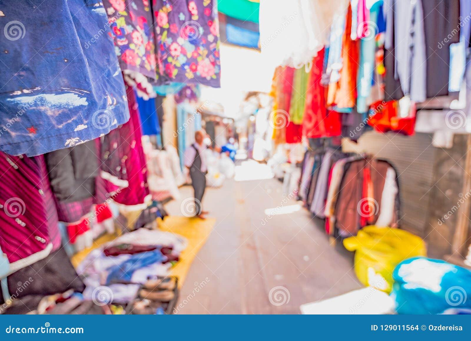 Vista de un bazar en Mardin, Turquía