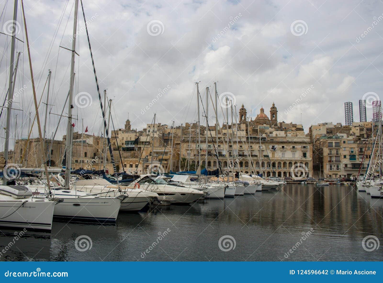 Vista de Vittoriosa, Malta