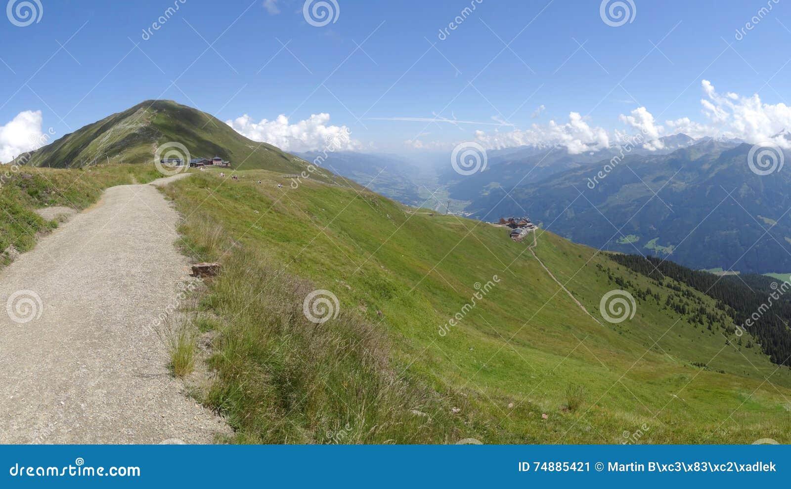 Vista de Wildkogel, Neukirchen, Áustria