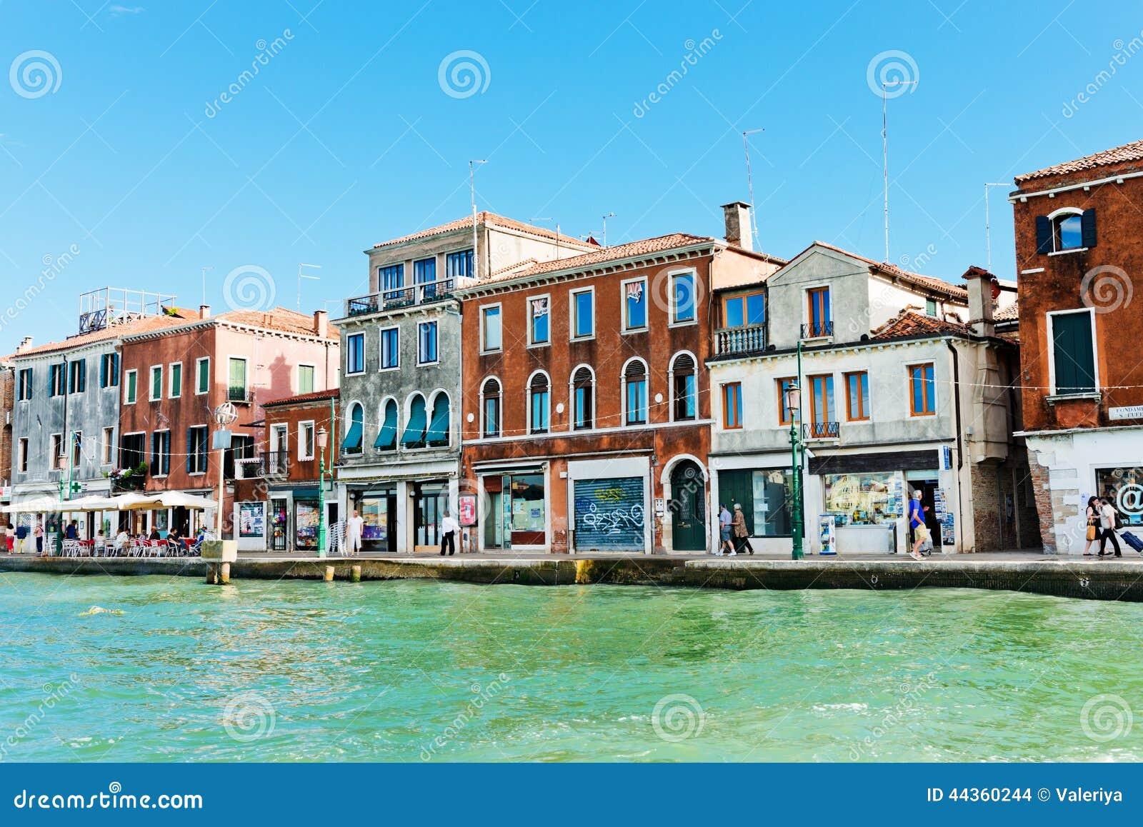 Vista del grande canale Venezia, Italia Venezia è una della maggior parte del popu