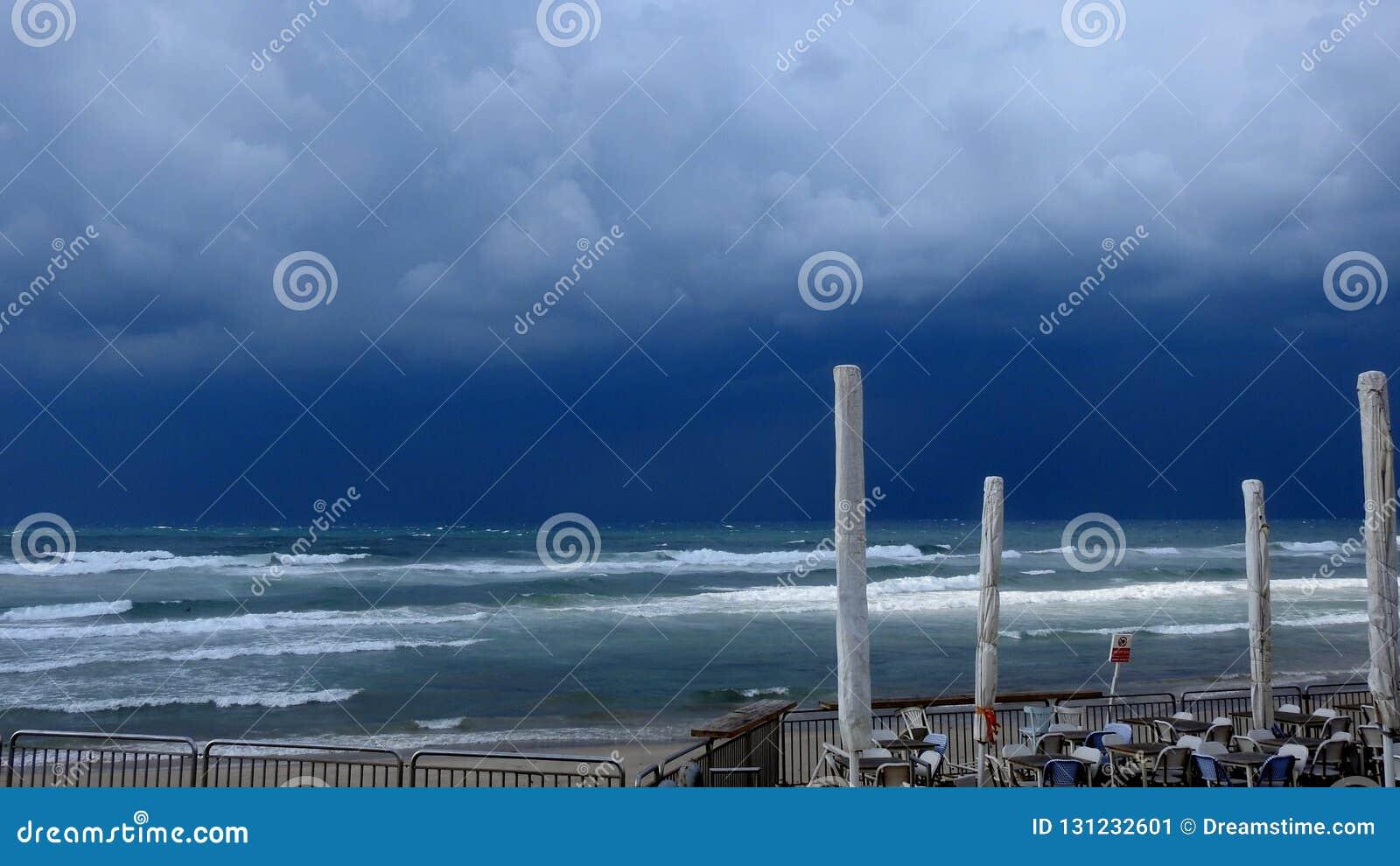 Vista del mar en verano