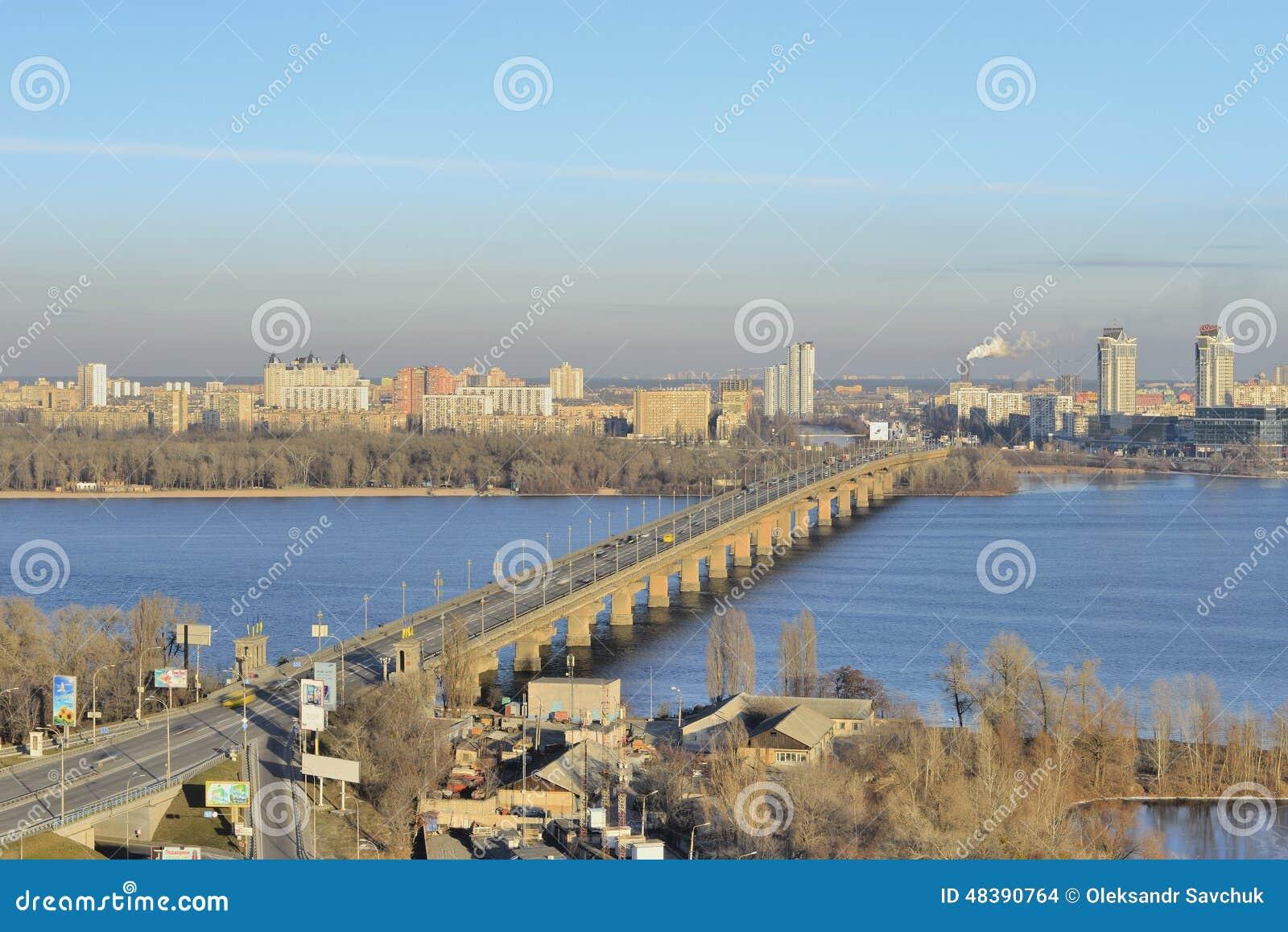 Vista del río Dnieper