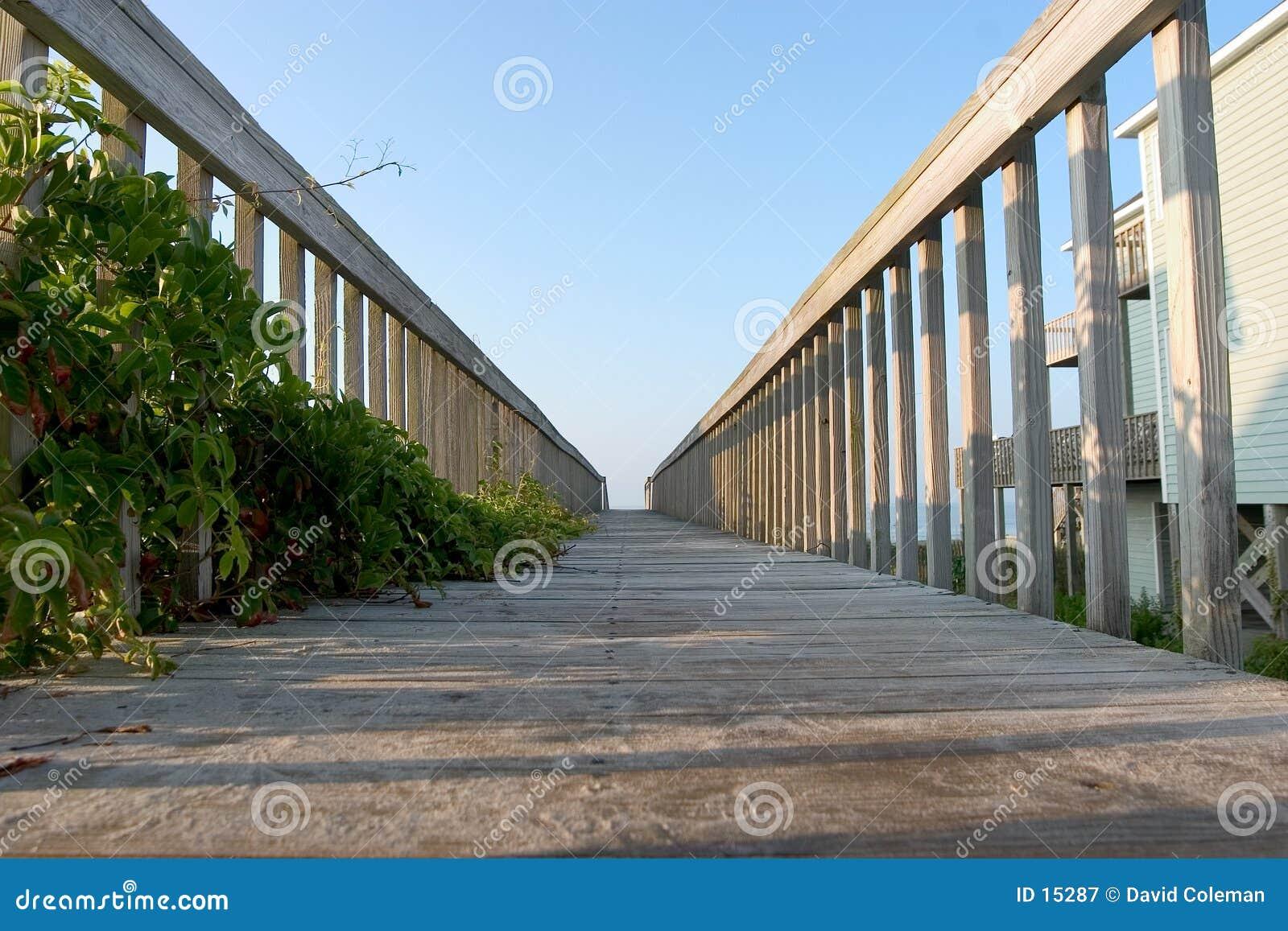 Vista del sentiero costiero