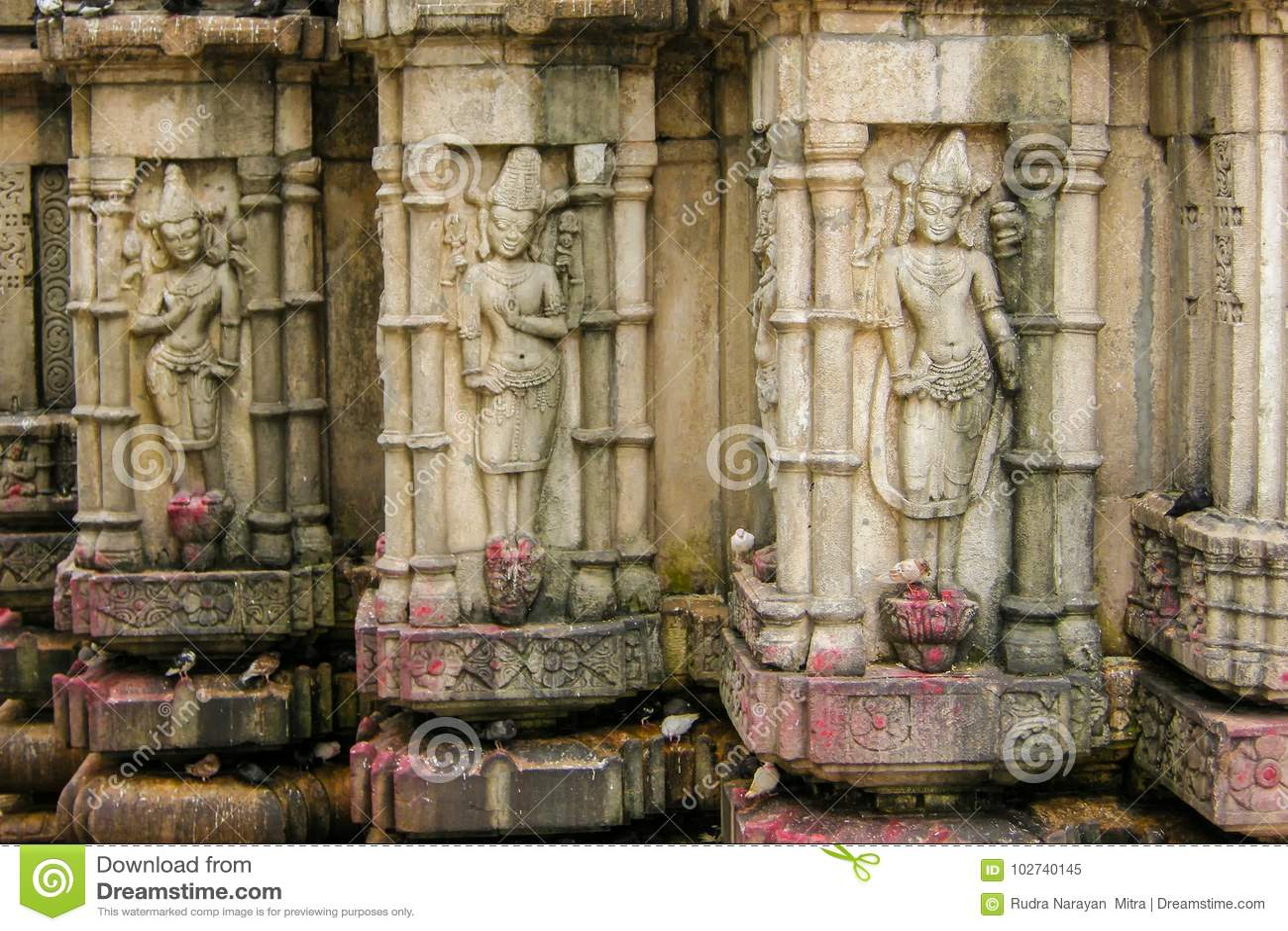 Vista del templo de Kamakhya, Guwahati, Assam
