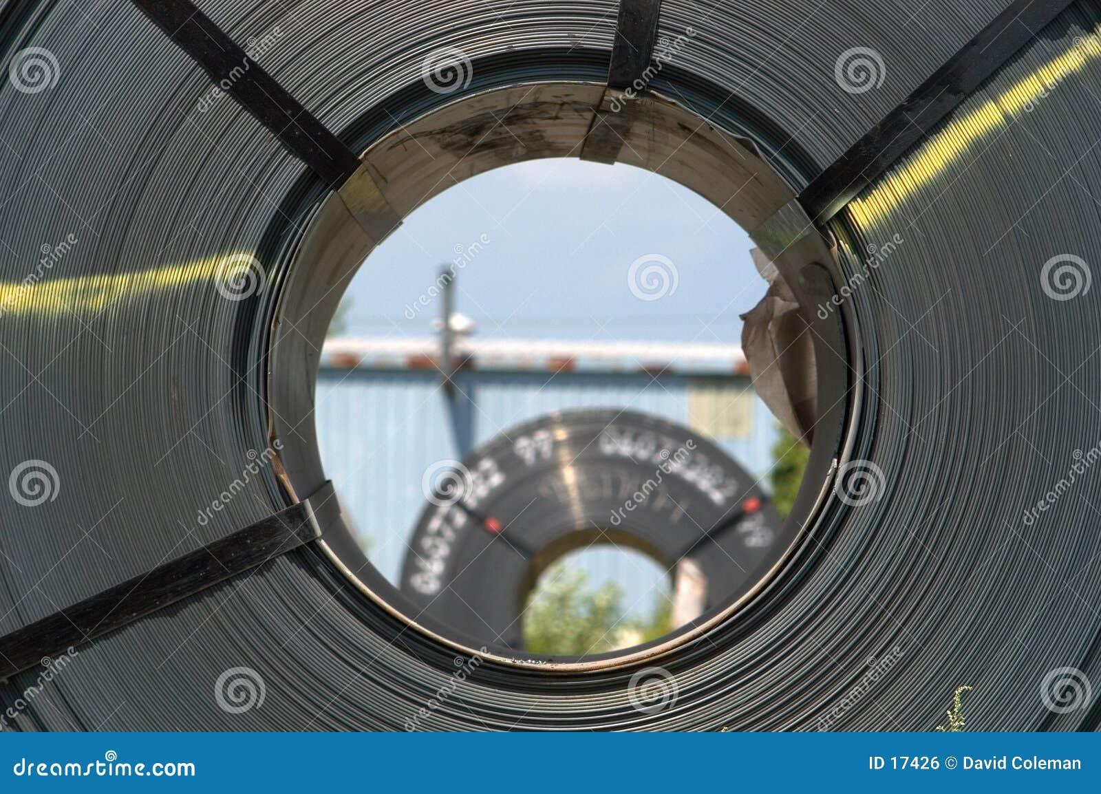 Vista dell occhio della bobina