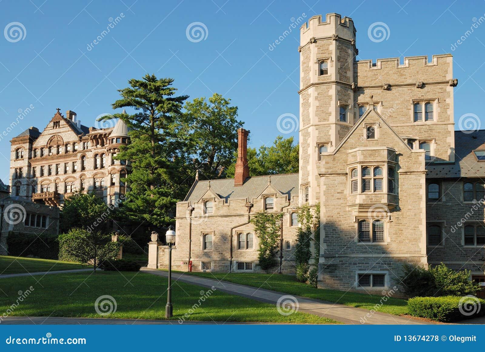 Vista dell Università di Princeton