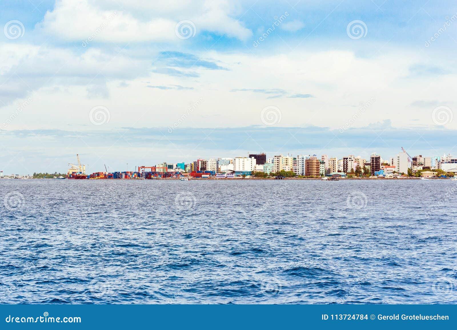 Vista della città del maschio