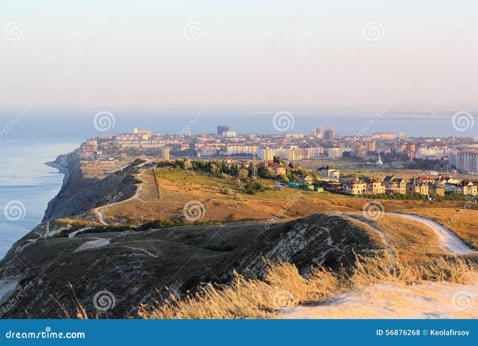 Vista della città di Anapa La Russia