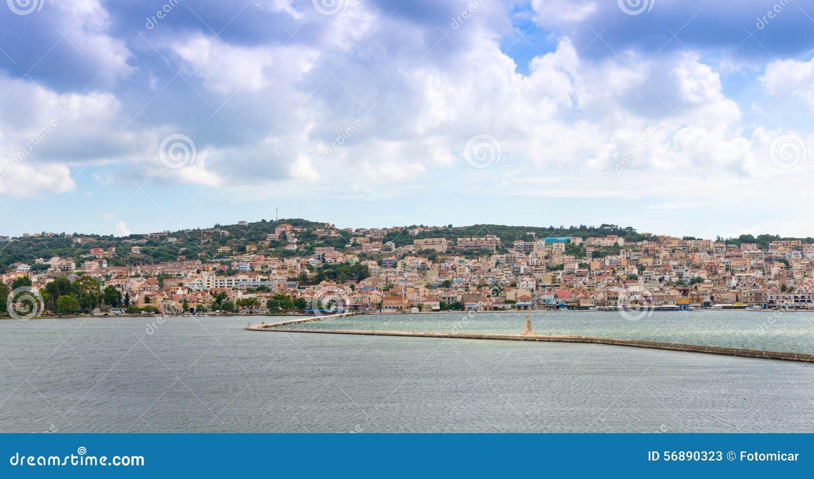 Vista della città di Argostoli