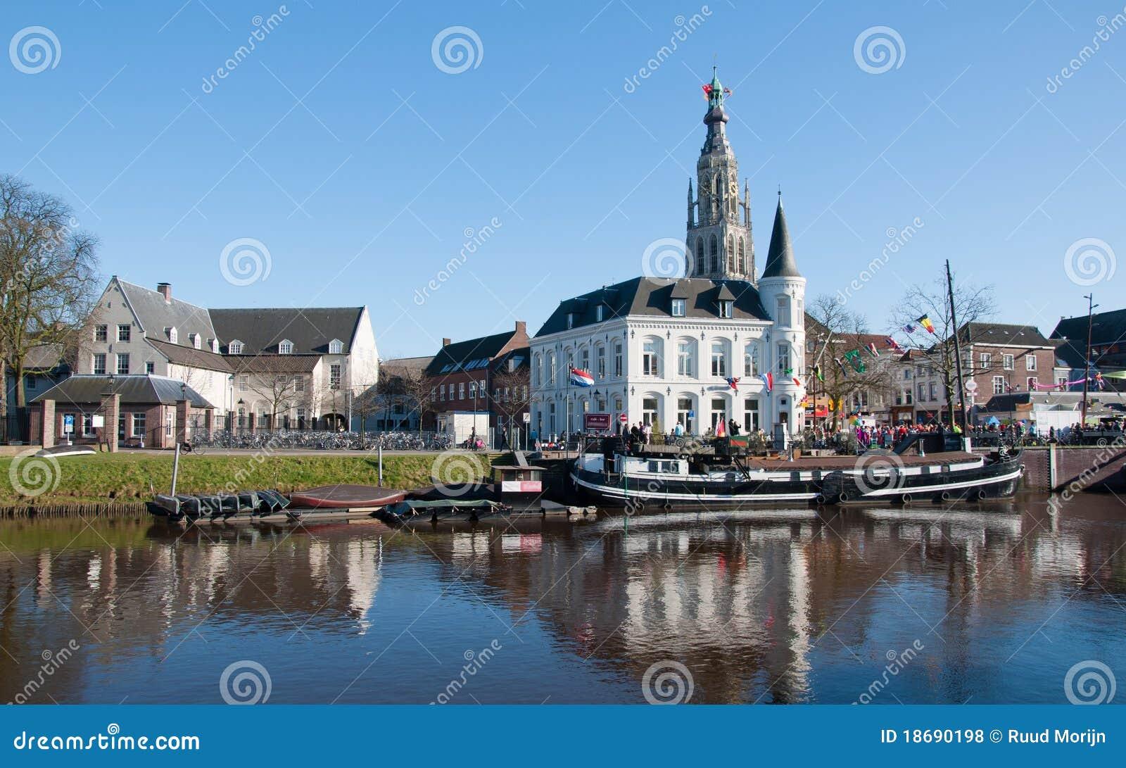 Vista della città di Breda (Paesi Bassi)