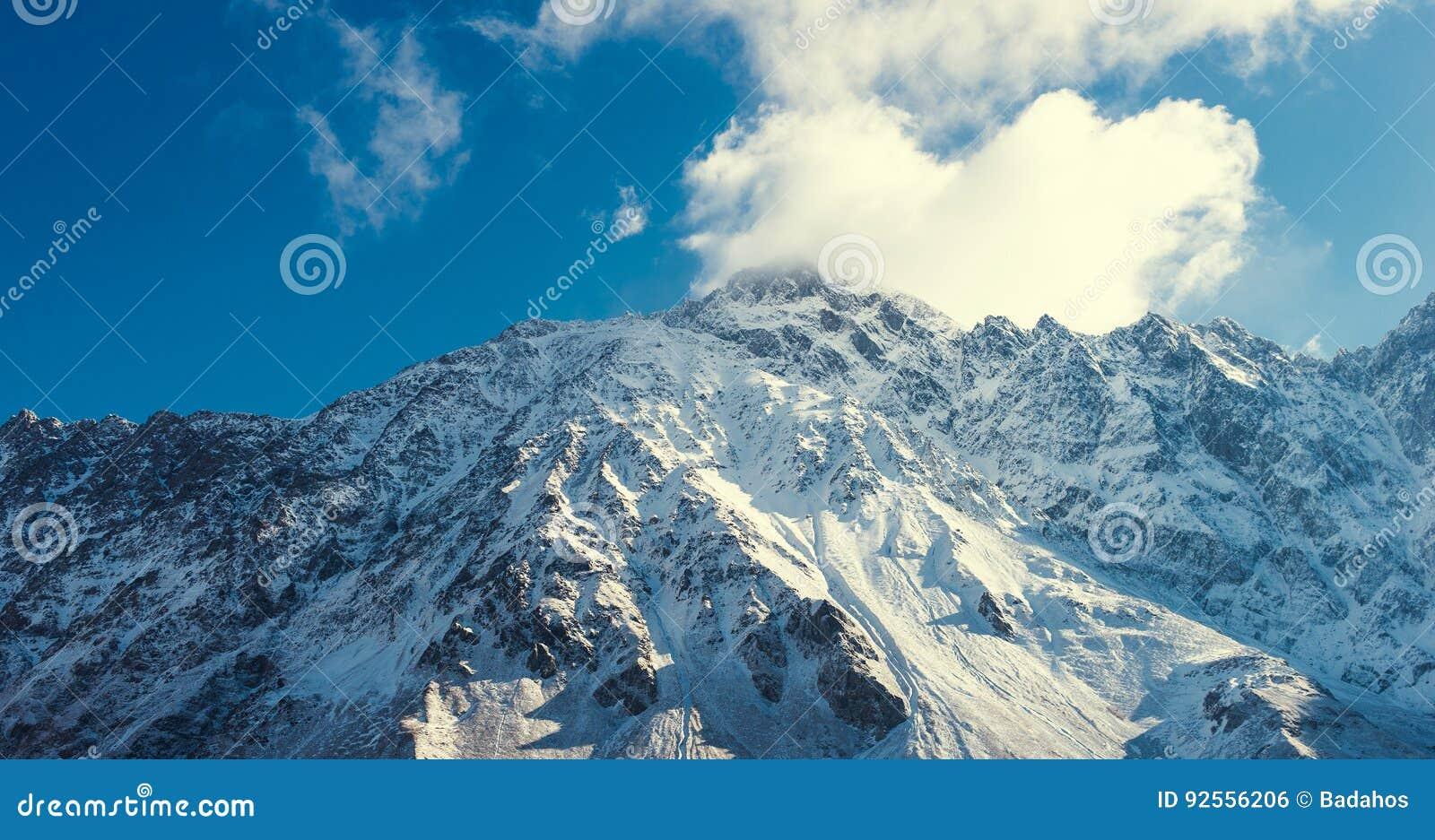 Vista della montagna