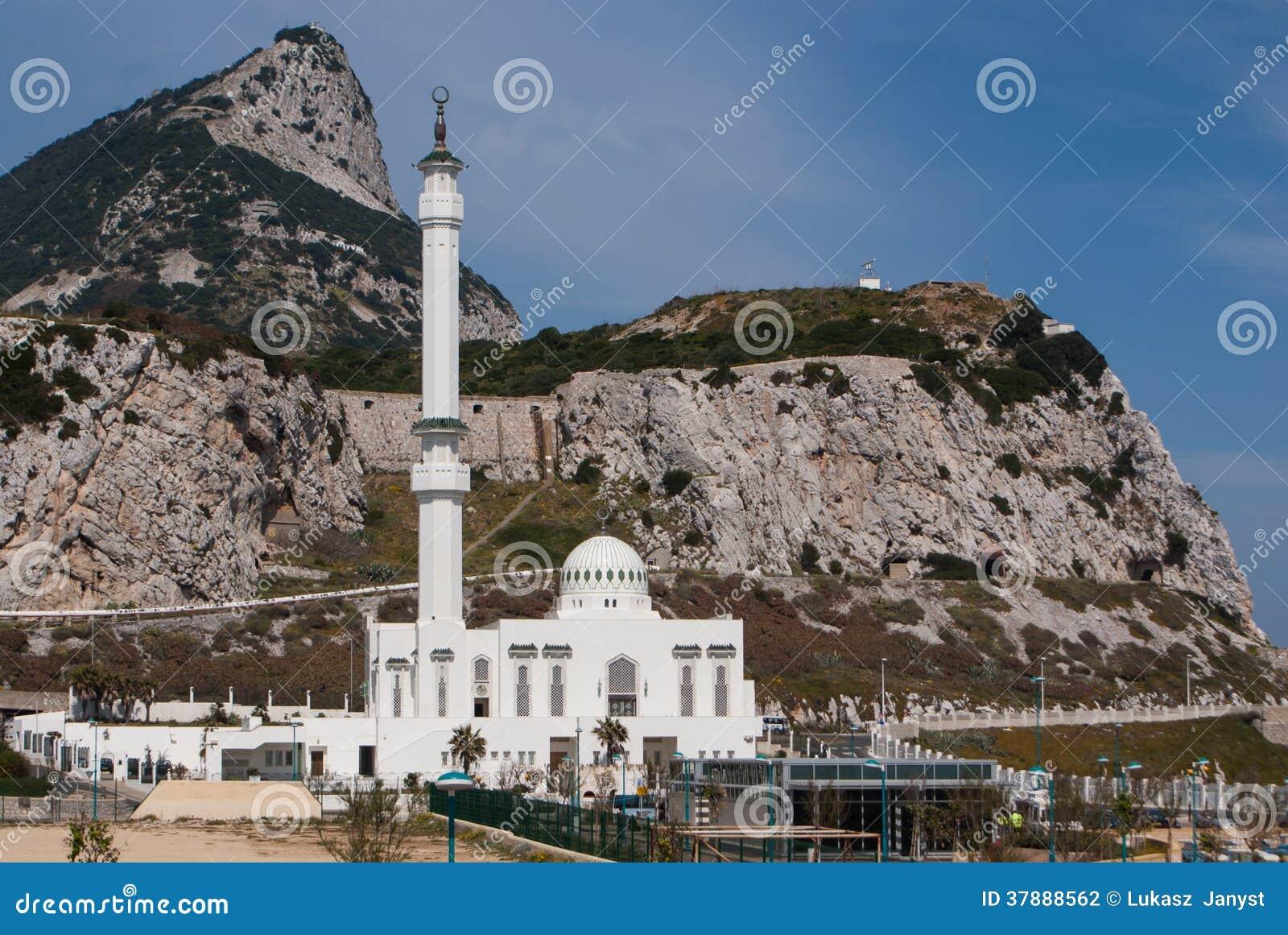 Vista della roccia di Gibilterra