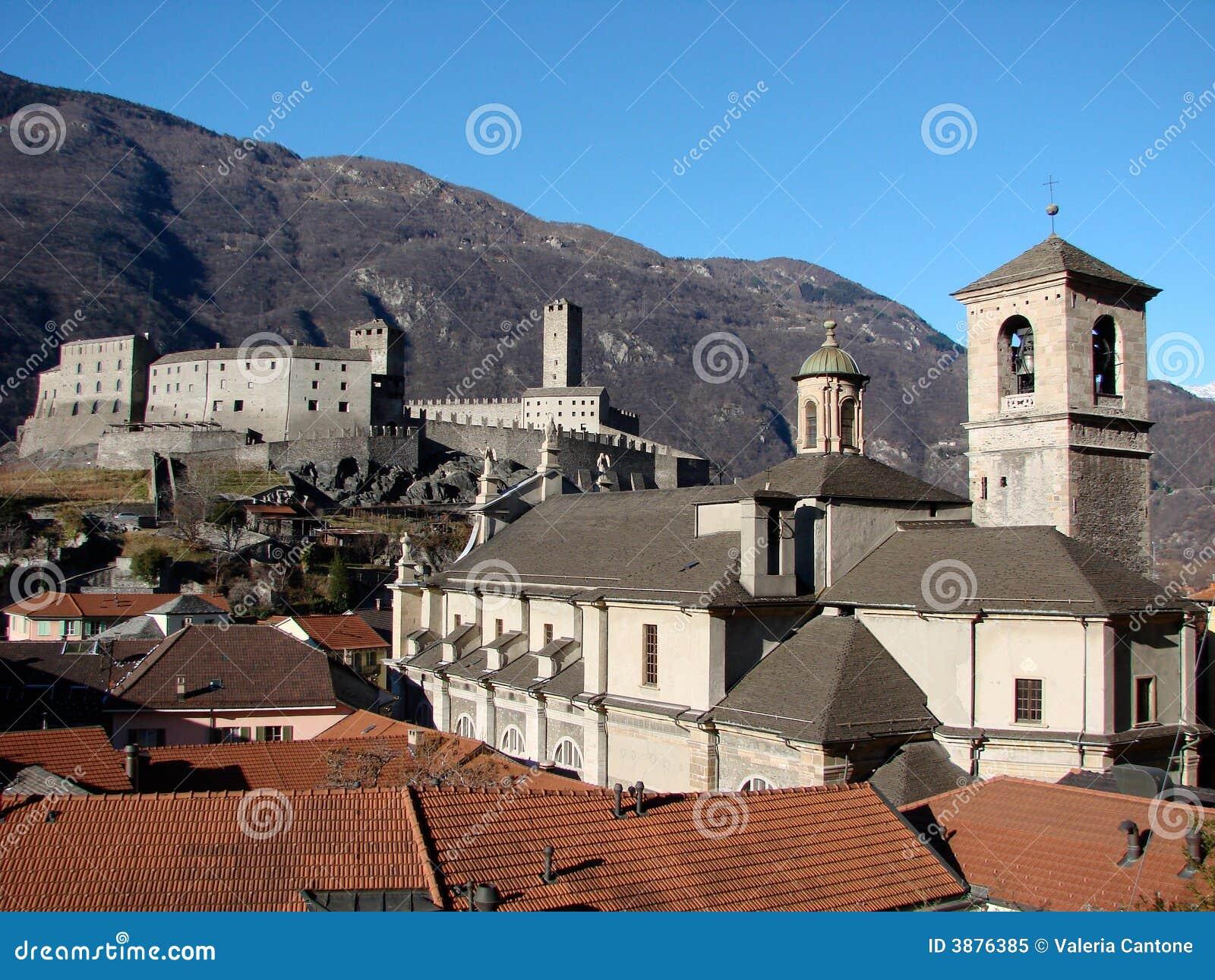 Vista di Bellinzona
