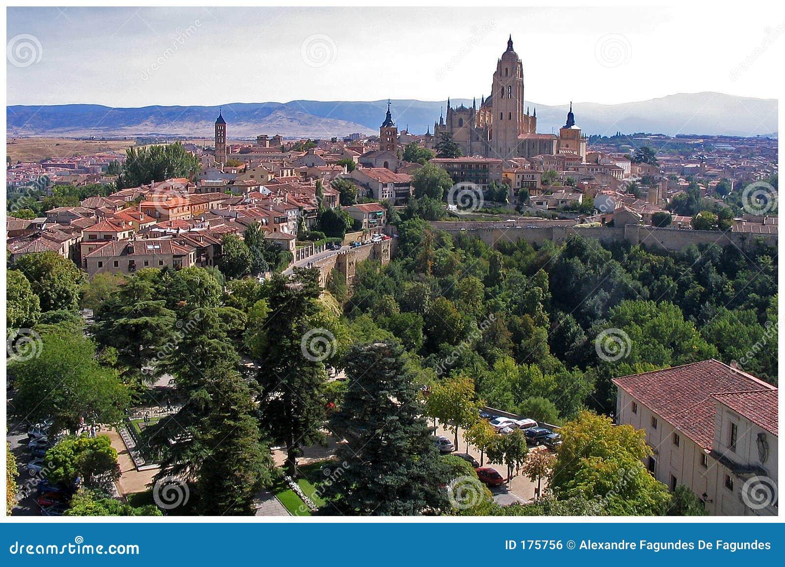 Vista di Segovia