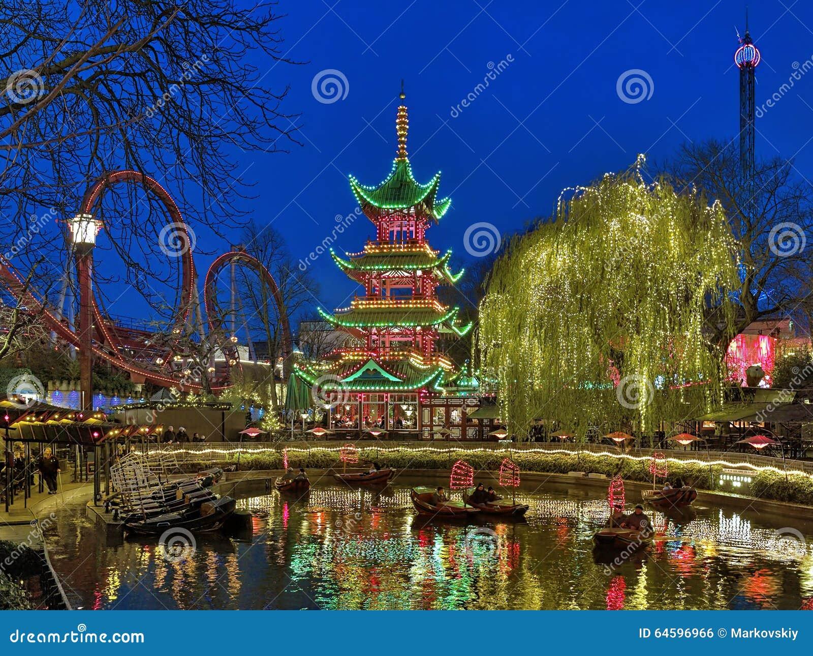 I giardini di tivoli il parco divertimenti più antico del mondo