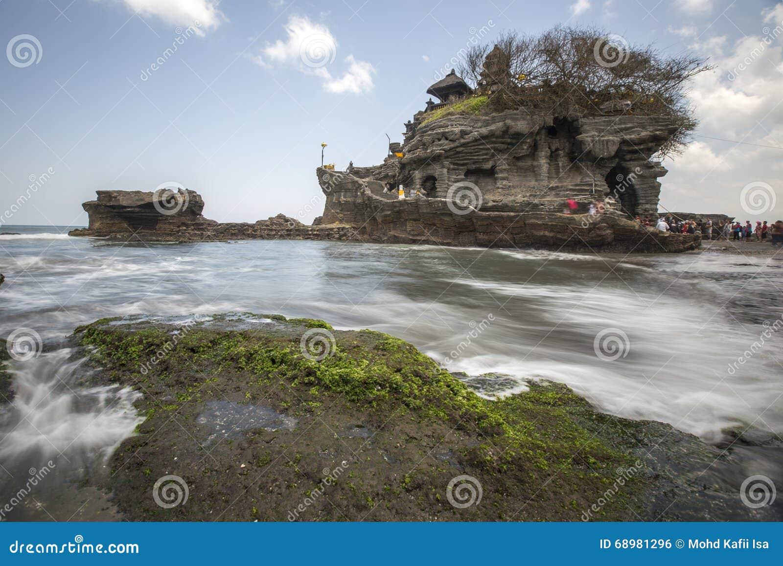 Vista di Snenic della spiaggia in Bali