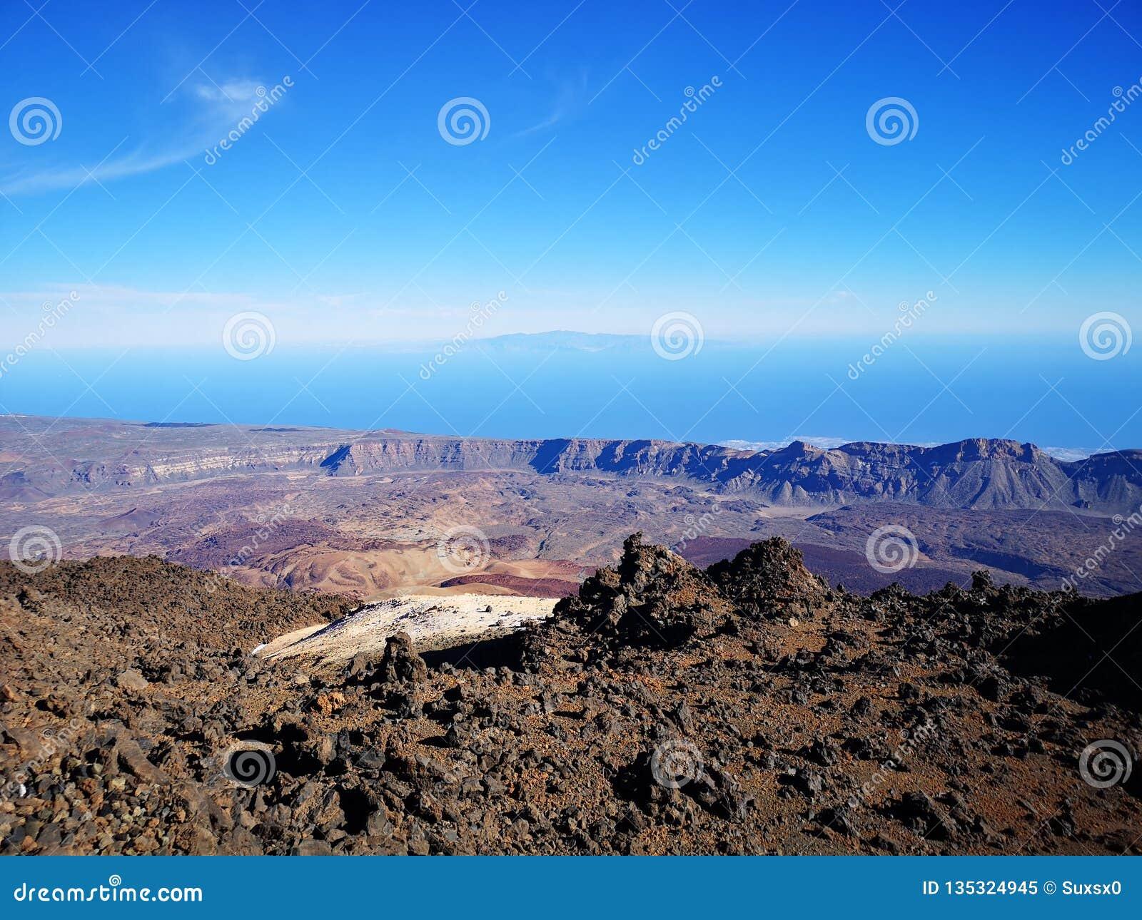 Vista di Teide