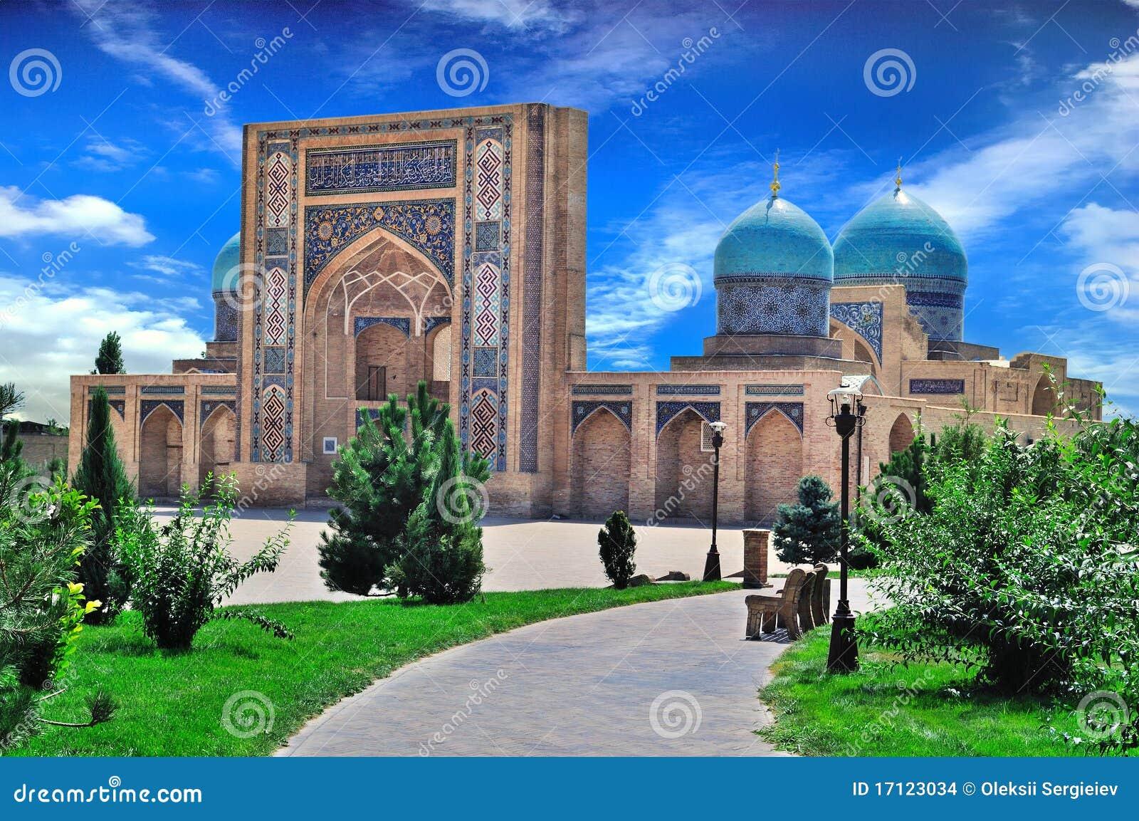 Vista di una moschea