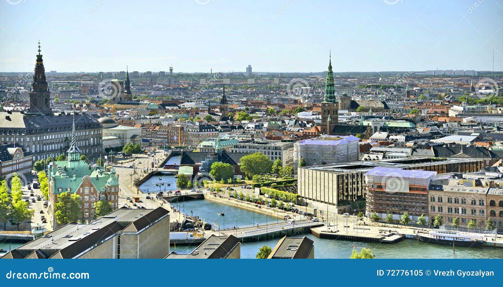 Vista do Copenhaga, Dinamarca