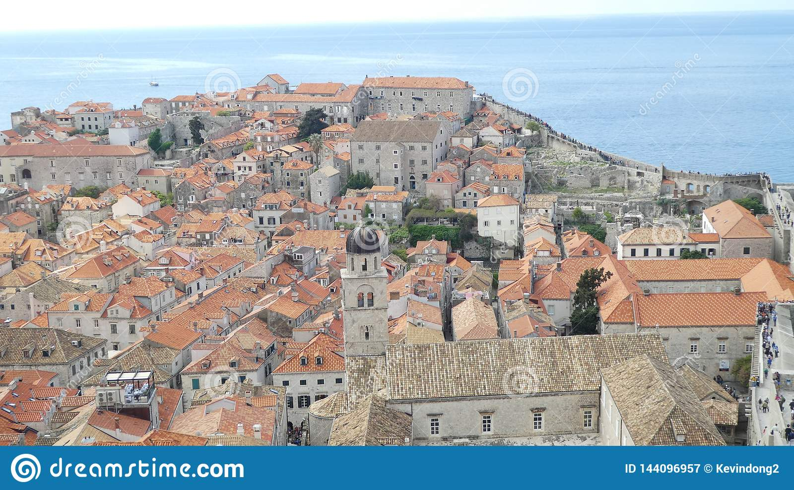 Vista do Dubrovnik velho