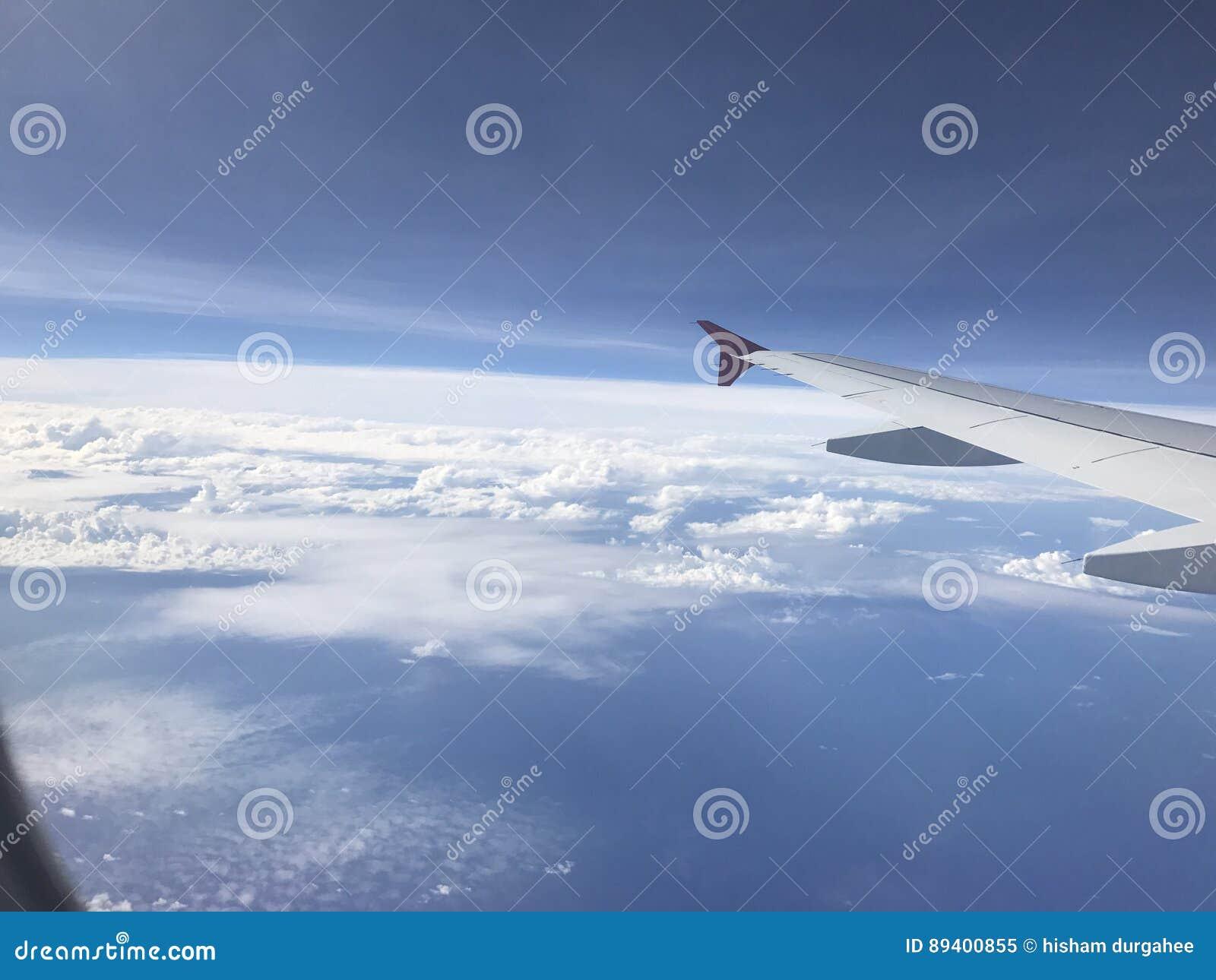 Vista dos aviões